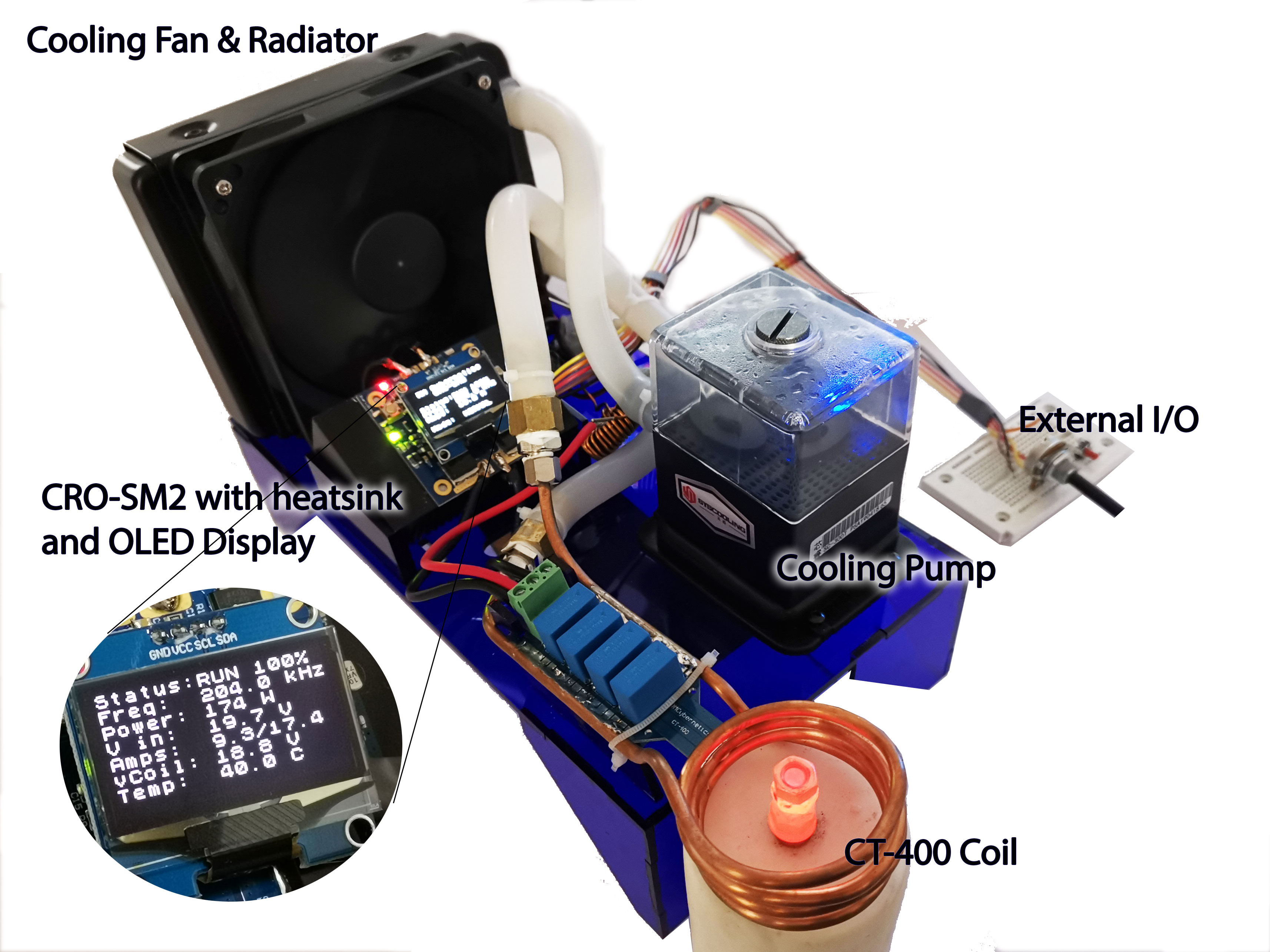 small induction heater