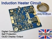 Small Induction heater circuit