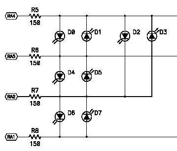 LED Multiplex dia