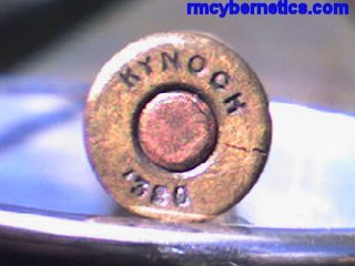 Unfired bullet