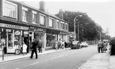Crewe Road in the 1960s