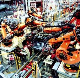 Industrial Robotics In Car Production