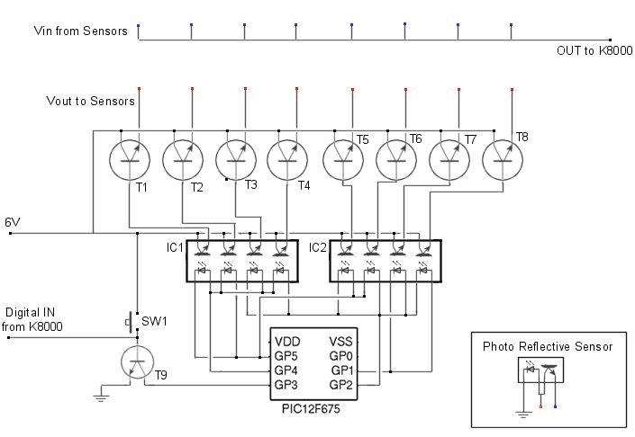 Multiplexer Schematic