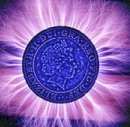 Kirlian £2 coin
