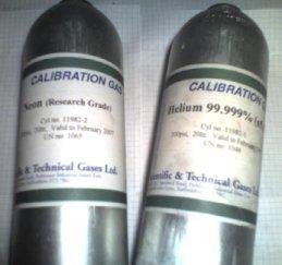 Neon Helium Gas