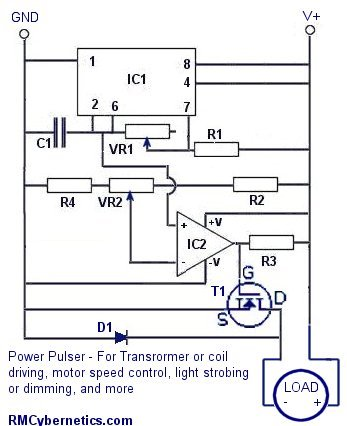 pwm circuit diagram
