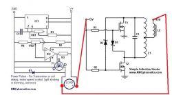 Simple DIY Induction Heater Circuit