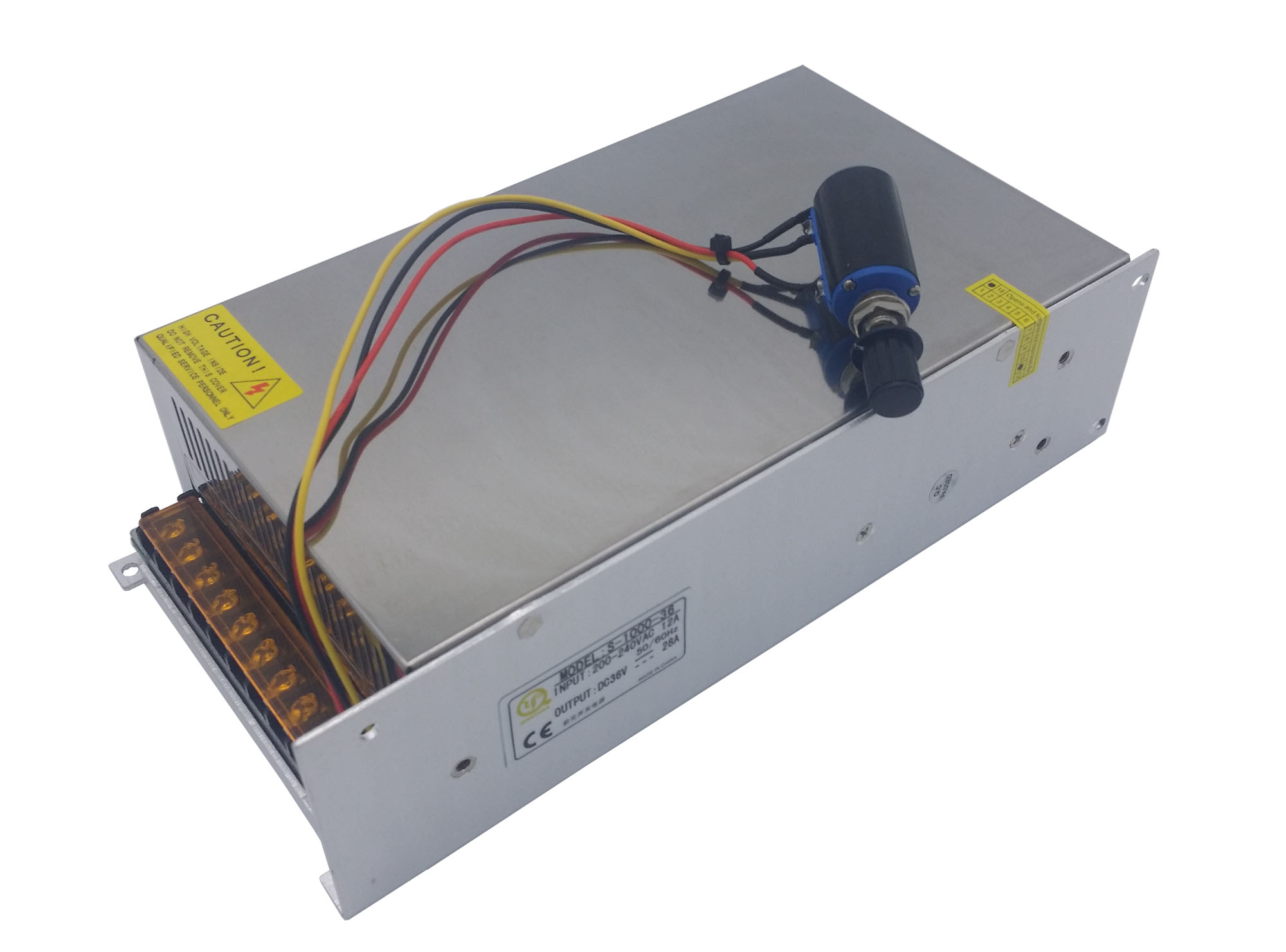 1000W Adjustable DC Power Supply SMPS - Custom Electronics, Quality ...