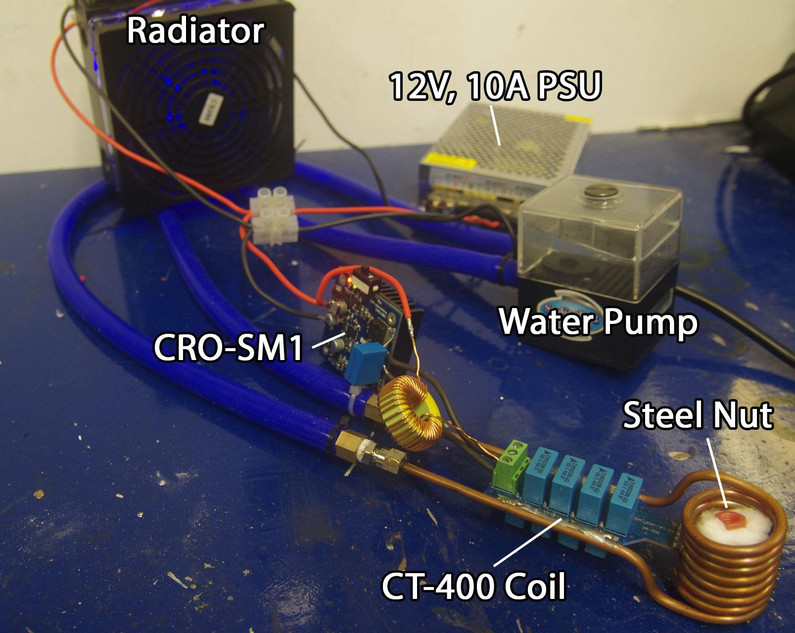 Ultra Compact Induction Heater Circuit Zvs Power Resonator