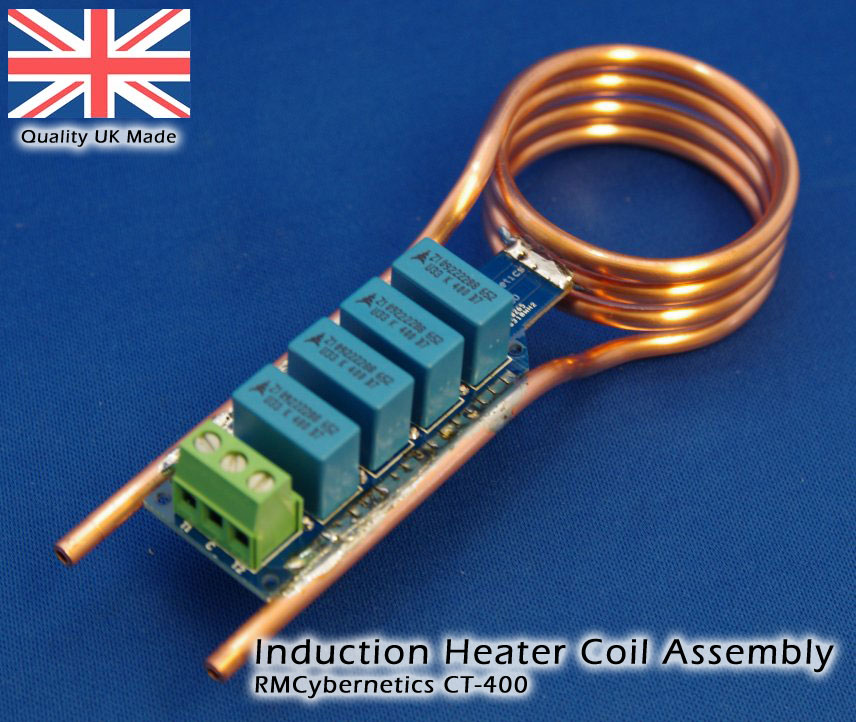 Induction Heater Coil Kit Custom Electronics Pwm