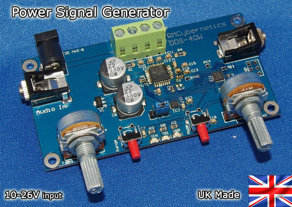 Power Signal Generator - DDS-40W